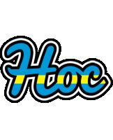 Hoc sweden logo