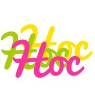 Hoc sweets logo