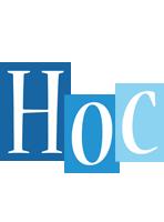 Hoc winter logo