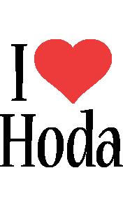 Hoda i-love logo