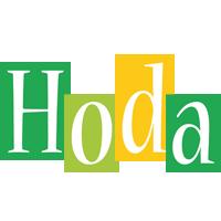 Hoda lemonade logo