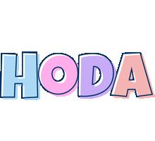 Hoda pastel logo
