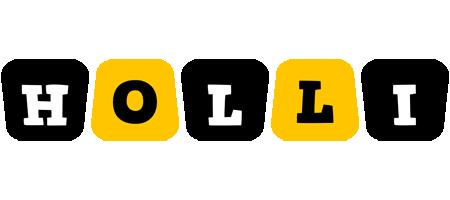 Holli boots logo