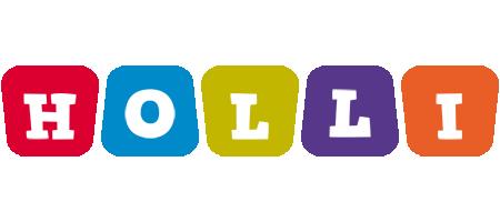Holli daycare logo