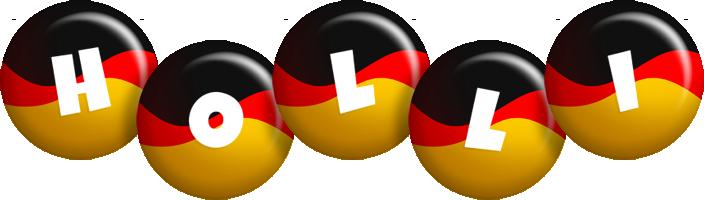Holli german logo