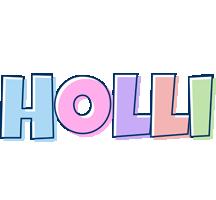 Holli pastel logo