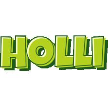 Holli summer logo