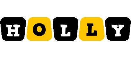 Holly boots logo