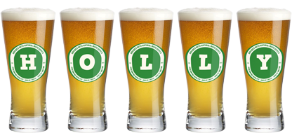 Holly lager logo