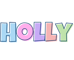 Holly pastel logo