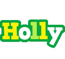 Holly soccer logo