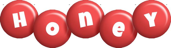 Honey candy-red logo