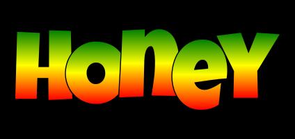 Honey mango logo