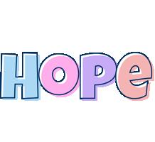 Hope pastel logo