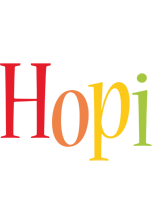 Hopi birthday logo
