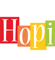 Hopi colors logo