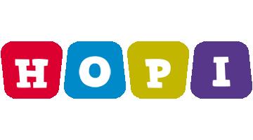 Hopi kiddo logo