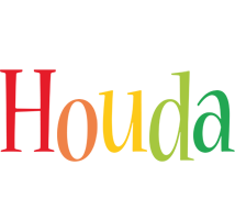 Houda birthday logo