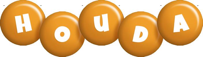 Houda candy-orange logo