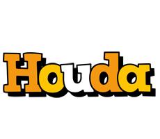 Houda cartoon logo