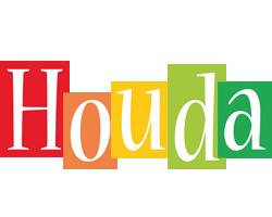 Houda colors logo
