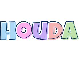 Houda pastel logo