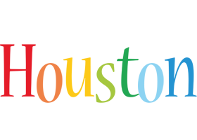 Houston birthday logo