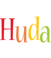 Huda birthday logo