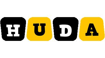 Huda boots logo
