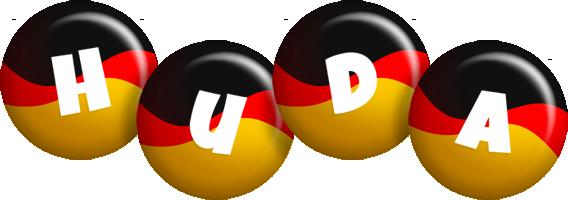 Huda german logo