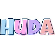 Huda pastel logo
