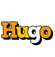 Hugo cartoon logo