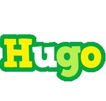 Hugo soccer logo