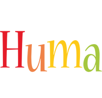 Huma birthday logo
