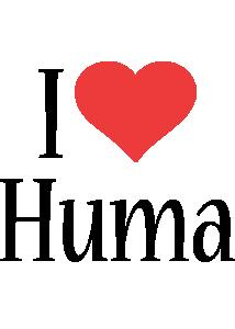 Huma i-love logo