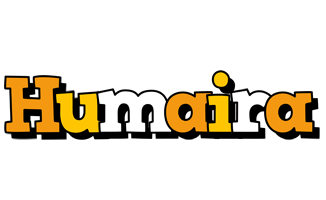 Humaira cartoon logo