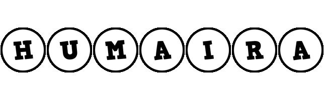 Humaira handy logo