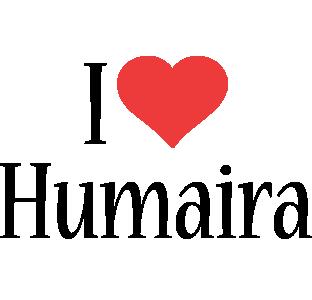 Humaira i-love logo