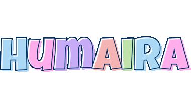 Humaira pastel logo