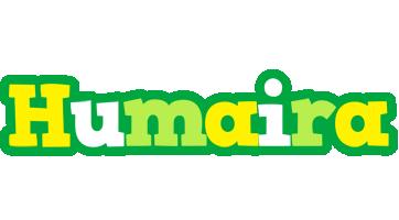 Humaira soccer logo