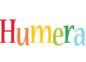 Humera birthday logo