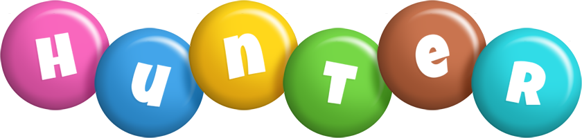 Hunter candy logo