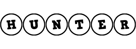Hunter handy logo