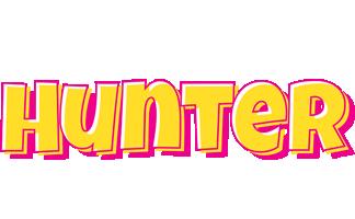 Hunter kaboom logo