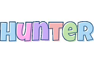 Hunter pastel logo