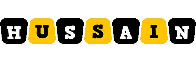 Hussain boots logo