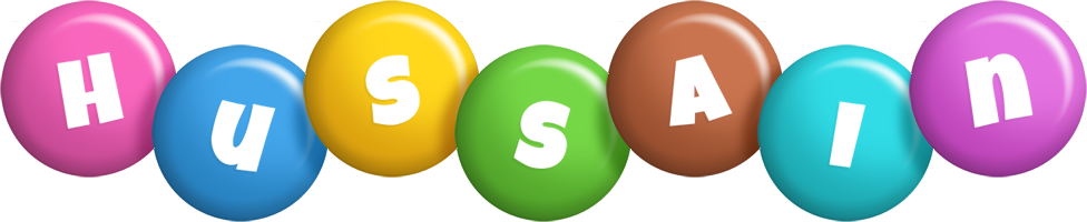 Hussain candy logo