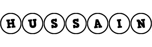 Hussain handy logo