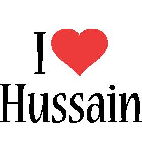 Hussain i-love logo