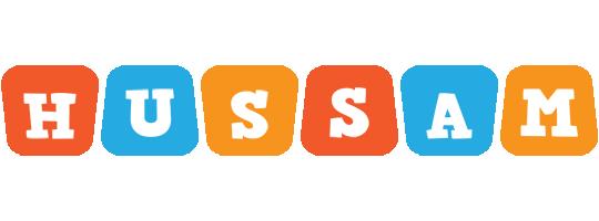 Hussam comics logo